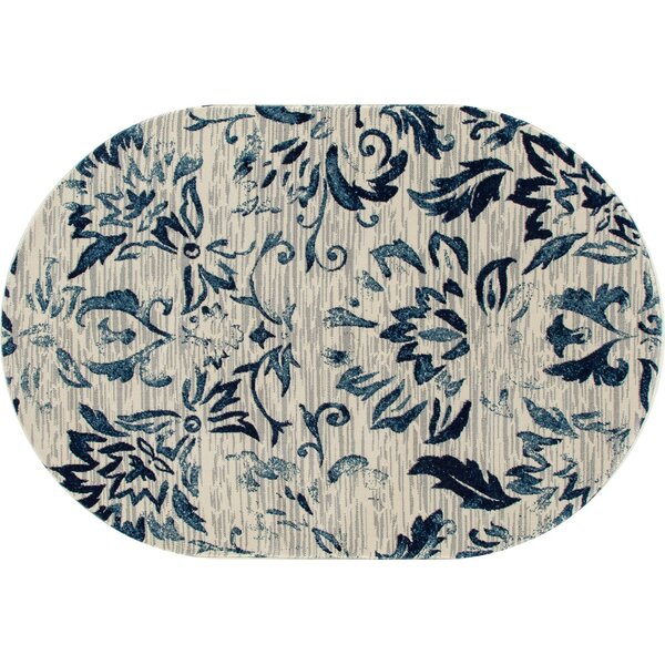 Klahn Navy Area Rug by House of Hampton