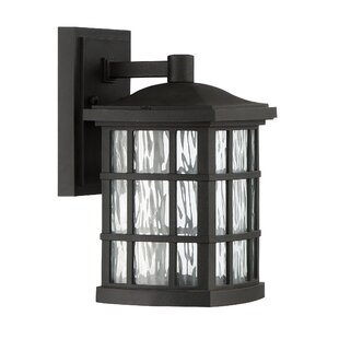 Price comparison Lockett 1-Light Outdoor Wall Lantern By Brayden Studio
