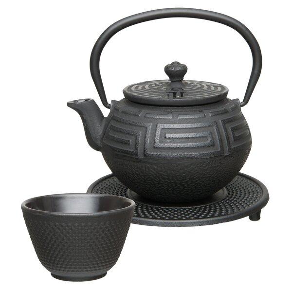 Studio 5-Piece Cast Iron Tea Set by BergHOFF International