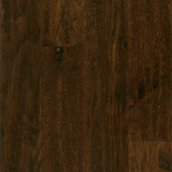 American Scrape 5 Engineered Hickory Hardwood Flooring in Smokehouse by Armstrong Flooring