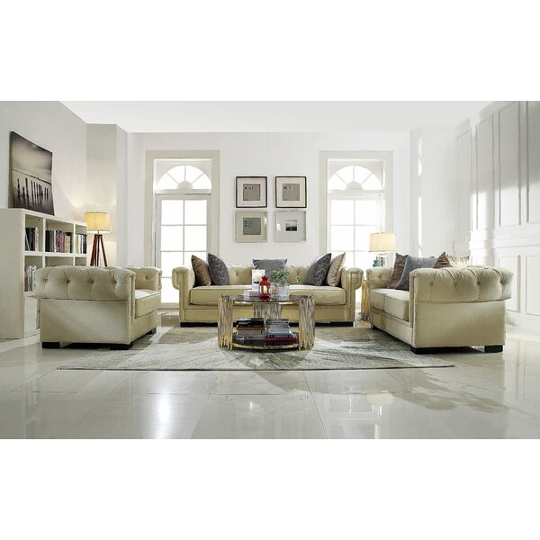 Crowborough Configurable Living Room Set by Rosdorf Park