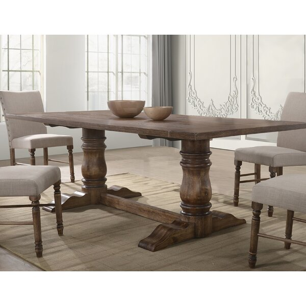 Nevada Solid Wood Dining Table by Gracie Oaks