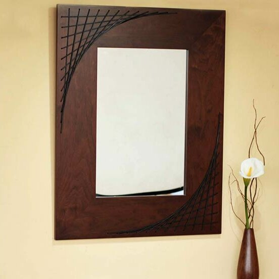 Web of Reflection Accent Mirror by Novica