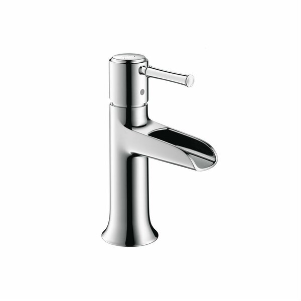 Talis C Single Hole Waterfall Faucet by Hansgrohe