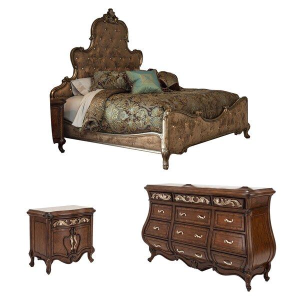 Platine De Royale Platform Configurable Bedroom Set by Michael Amini