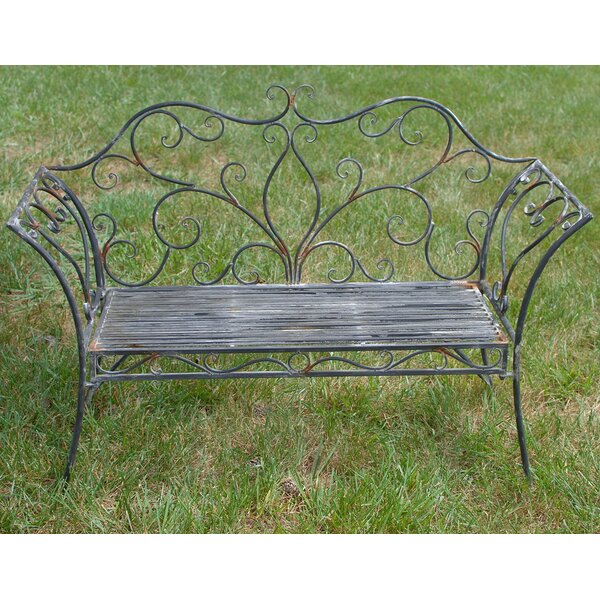 Metal Garden Bench by Attraction Design Home
