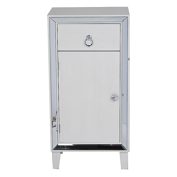 Pelkey 1 Door Accent Cabinet by House of Hampton