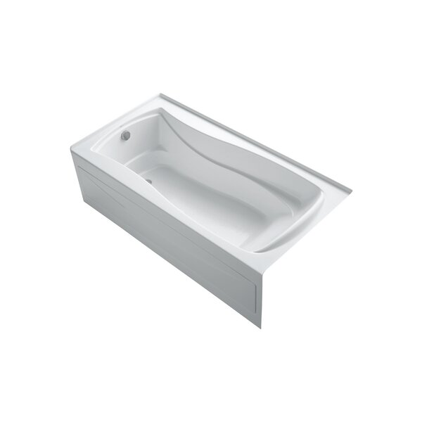 Mariposa 72 x 36 Alcove BubbleMassage Air Bathtub by Kohler