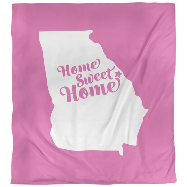 Home Sweet Augusta Ga Duvet Cover
