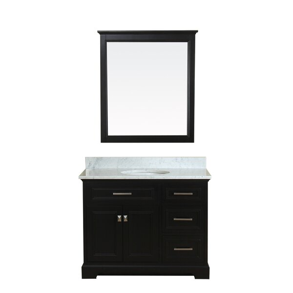 Coston 43 Single Bathroom Vanity Set with Mirror by Red Barrel Studio