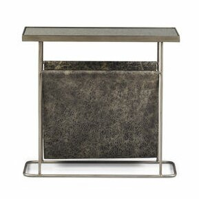 Yasmine Silver End Table by Brayden Studio