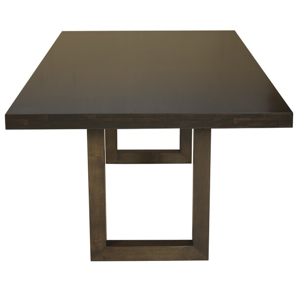 Emerson Extendable Solid Wood Dining Table by Saloom Furniture