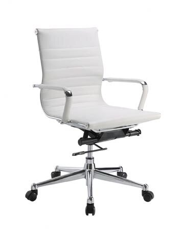 Pantera Genuine Leather Office Chair by Flexsteel Contract