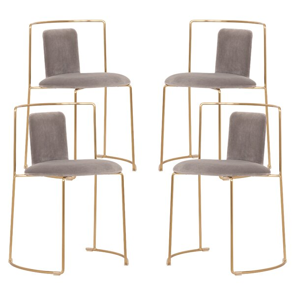 Tamerae Dining Chair (Set Of 4) By Everly Quinn