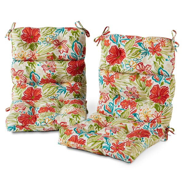 High Back Outdoor Seat/Back Cushion