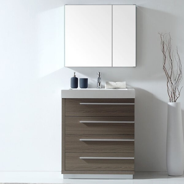 Copher 29 Single Bathroom Vanity Set with Mirror by Brayden Studio