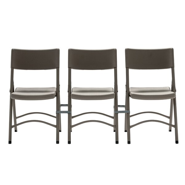 Zown Premium Metal Folding Chair Set (Set of 4) by Cosco Home and Office