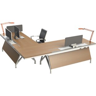 Compare Eyhov Rail Workstation L-Shape Computer Desk by Scale 1:1