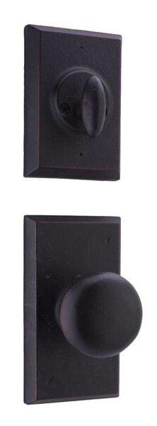 Aspen Single Cylinder Entrance Knobset by Weslock