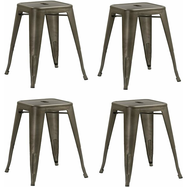 Jeffery Accent Stool (Set of 4) by Williston Forge Williston Forge