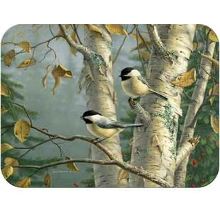 Tuftop Chickadees Cutting Board By McGowan