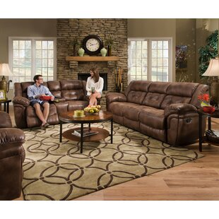 Ruffin Reclining Configurable Living Room Set Loon Peak
