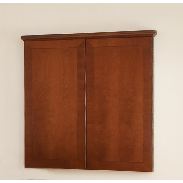 Belmont Enclosed Cabinet Whiteboard, 49 x 48 by Fl