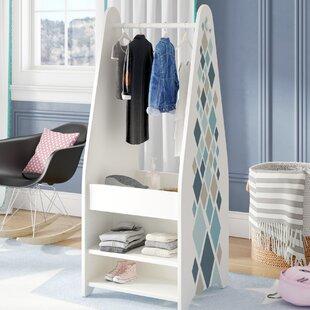 Check Prices Celli Open Wardrobe Armoire ByMack & Milo