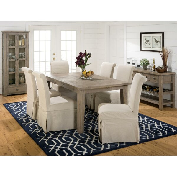 Aaden Transitional Upholstered Dining Chair (Set of 2) by One Allium Way