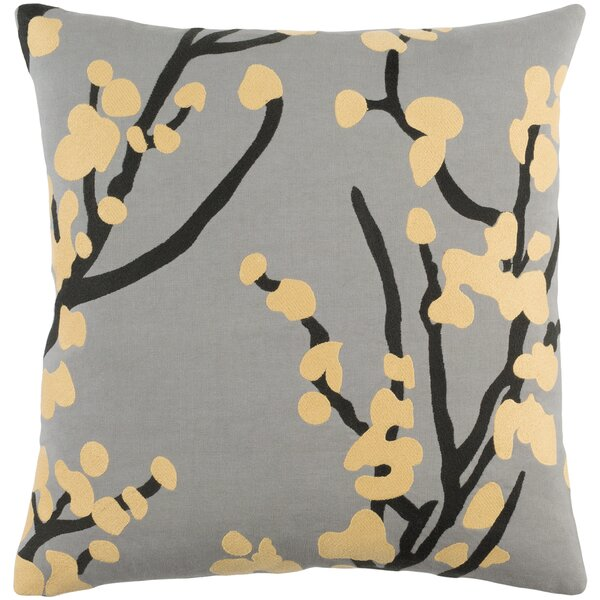 Kerwin Cotton Throw Pillow Cover by Ophelia & Co.