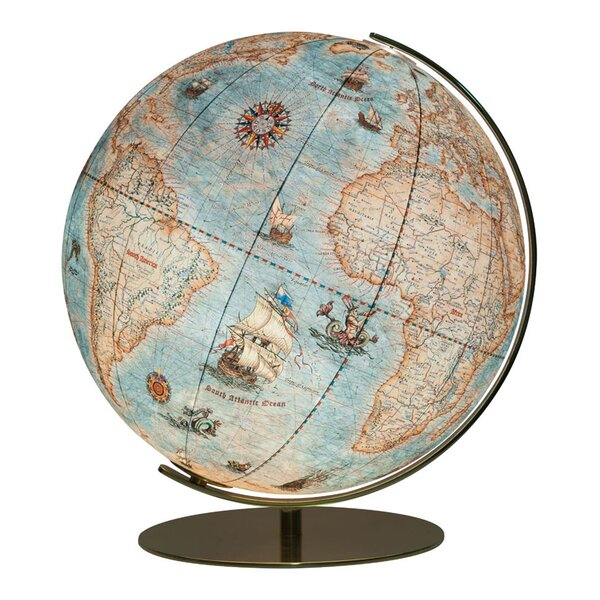 Dresden Illuminated Desktop Globe by Columbus Globe