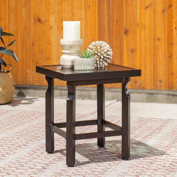 Outdoor Metal Side Table by La-Z-Boy
