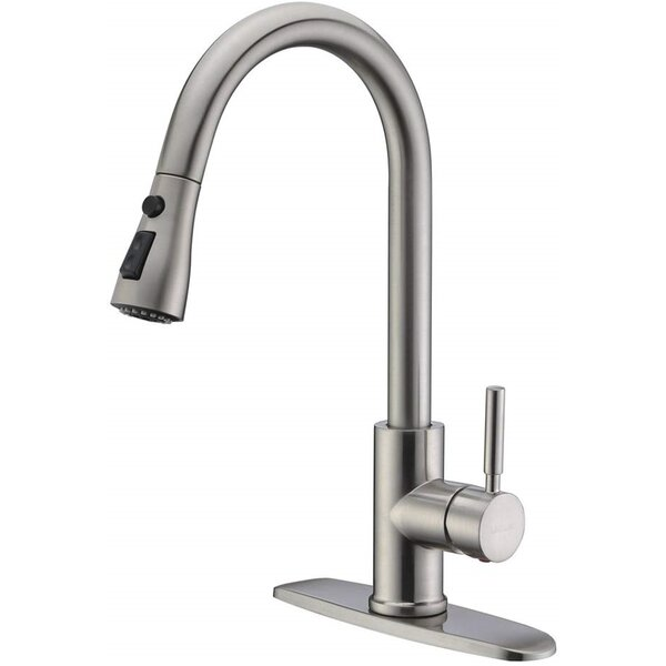 Sink Pull Down Single Handle Kitchen Faucet By ELLO&ALLO