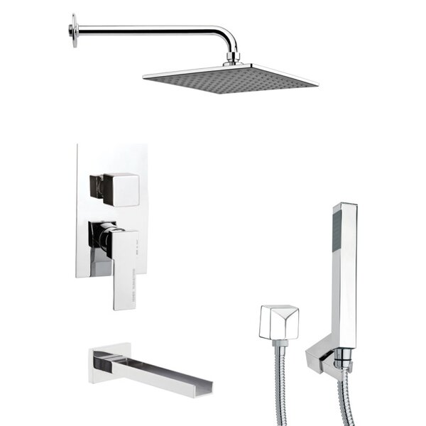 Tyga Pressure Balanced Complete Shower System With Rough-in Valve By Remer By Nameek's
