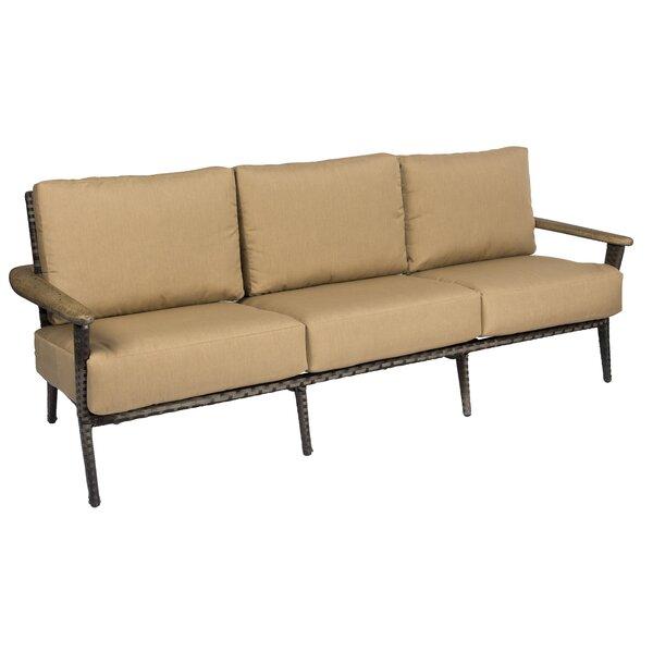 Draper 3 Piece Deep Seating Group with Cushions by Woodard Woodard
