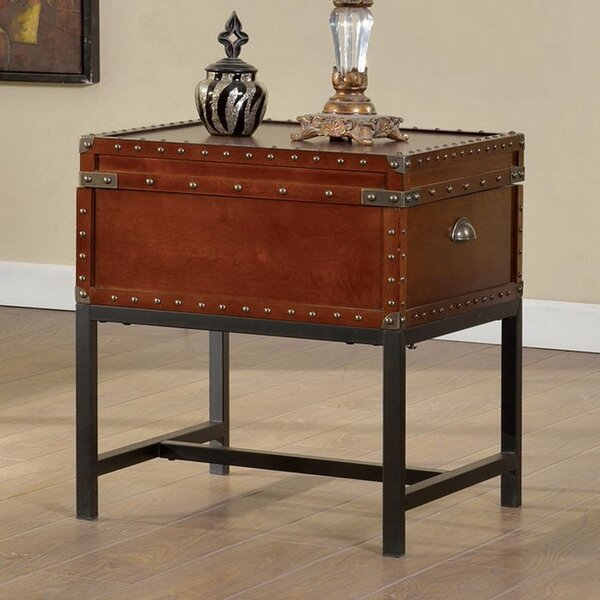 Kellam End Table with Storage by Williston Forge