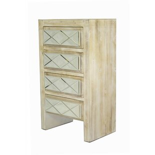 Shop for Harriotte 4 Drawer Accent Chest ByHouse of Hampton