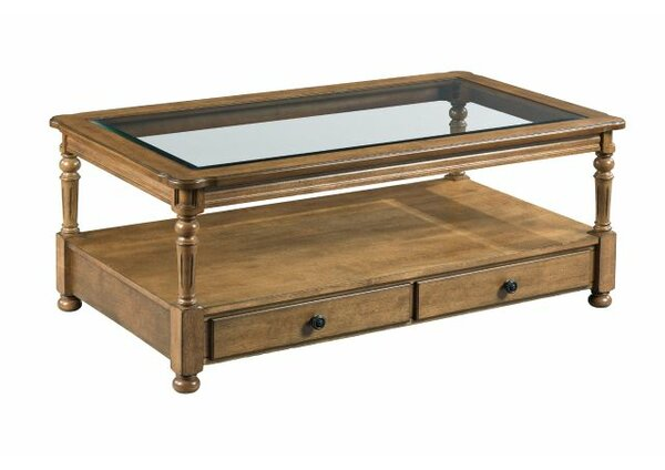 Serena Coffee Table with Storage by Charlton Home