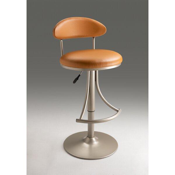 Danita Adjustable Height Bar Stool by Ebern Designs