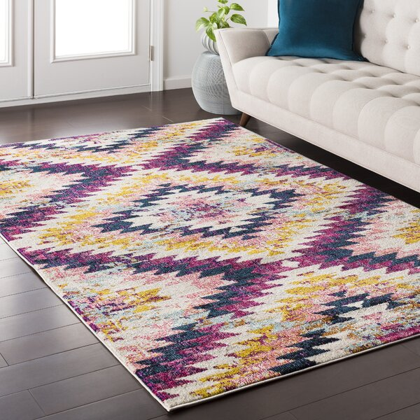 Nichole Purple Area Rug by Mistana