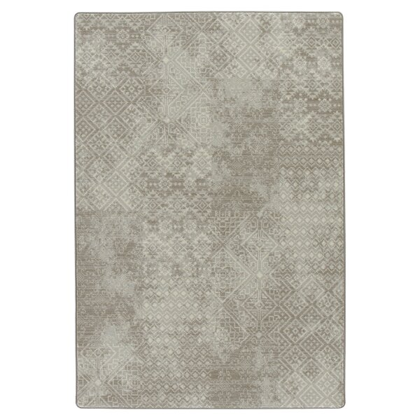 Tate Oyster Area Rug by Bungalow Rose