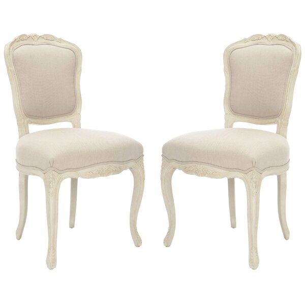 New London Upholstered Dining Chair (Set of 2) by Safavieh