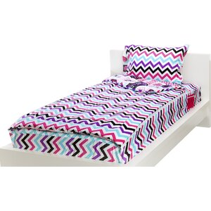 Ewart Rocker Princess 3 Piece Reversible Comforter Set