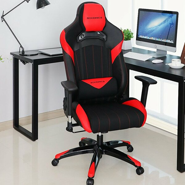 Everhart High-Back Racing Sport Ergonomic Gaming Chair by Rebrilliant