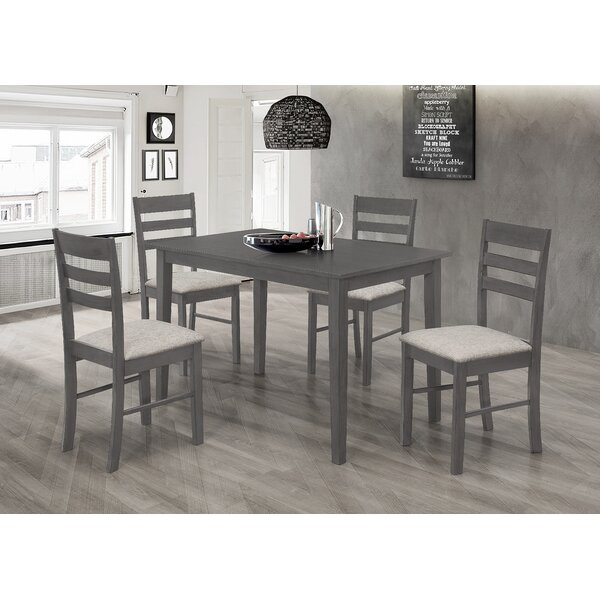 Bilger 5 Piece Dining Set by Gracie Oaks Gracie Oaks