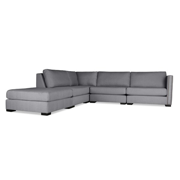 Timpson Modular Sectional with Ottoman by Latitude Run