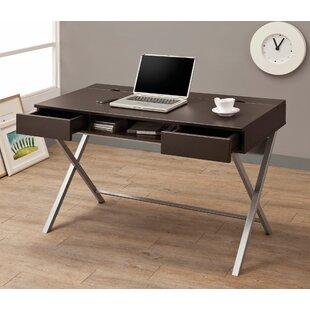 Baney 2 Drawer Writing Desk by Ebern Designs Wonderful