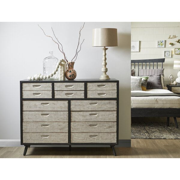 Hehir 10 Drawer Double Dresser By Gracie Oaks by Gracie Oaks Comparison