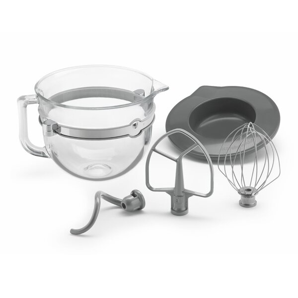 6-qt. Glass Bowl Accessory Bundle by KitchenAid