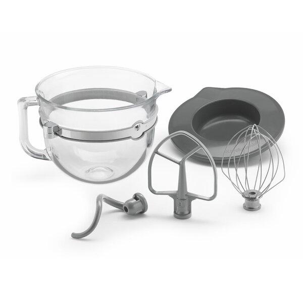 6-qt. Glass Bowl Accessory Bundle by KitchenAid